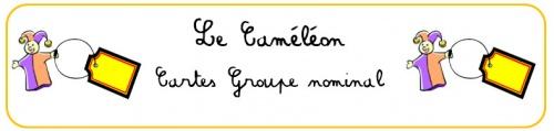Le Caméléon - jeu de conjugaison