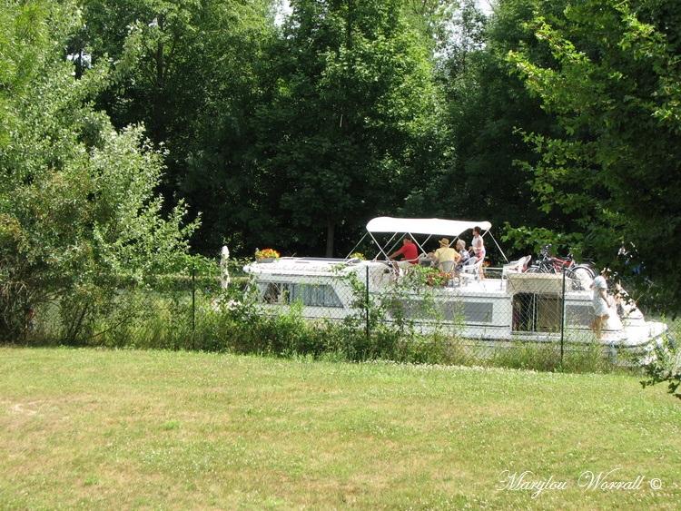 Souffelweyersheim (67): Trafic sur le canal