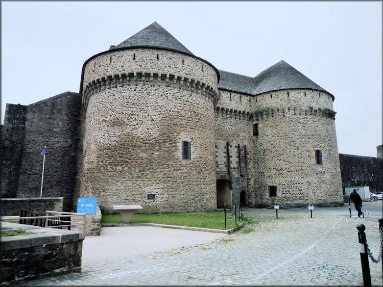 Photo du château de Brest, musée national de la Marine