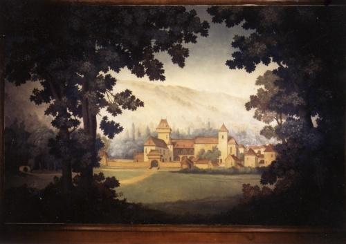L'église et le château de Gigouzac