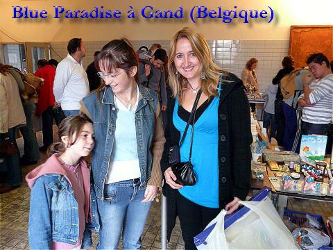 blue paradise schtroumpfs
