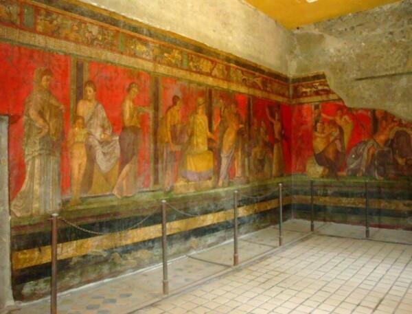 Pompei, la Villa des Mystères 9d