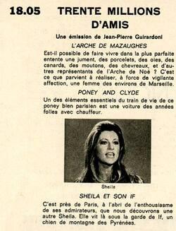 23 avril 1977 / 30 MILLIONS D'AMIS