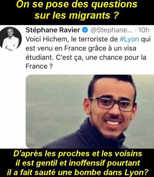 Macron, Islam, brexit, ce sont des vérités qu'on aime pas entendre.
