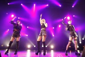 Image du live des Pink Cres