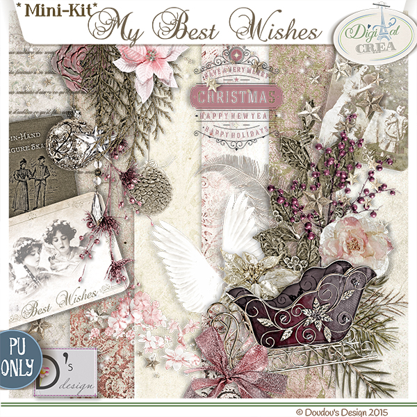 MY BEST WISHES BY DOUDOU'S DESIGN