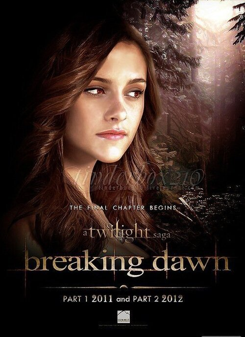 affiche breaking dawn
