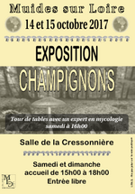 "Ce week-end exposition ""Champignons"""
