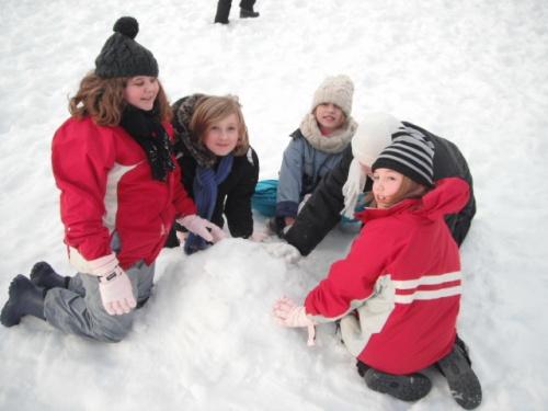Les joies de la neige