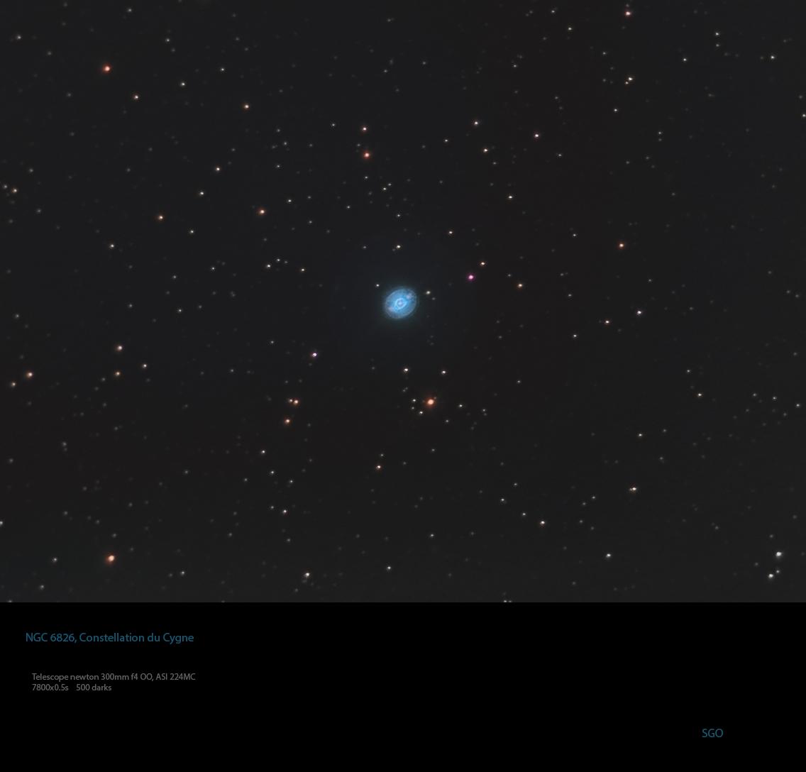 NGC 6826, Nebuleuse Blinking ou C15