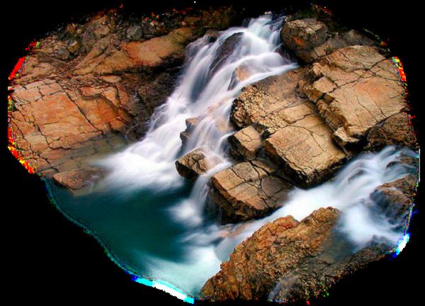 Paysage cascade 5