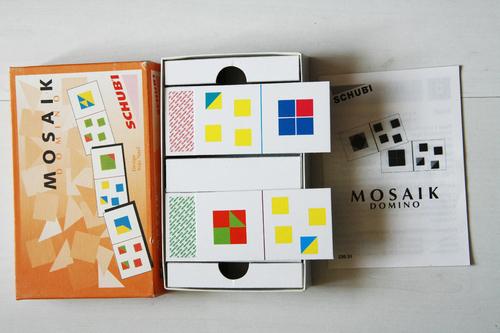Inspirations swap grâce au jeu Mosaïk de Schubi