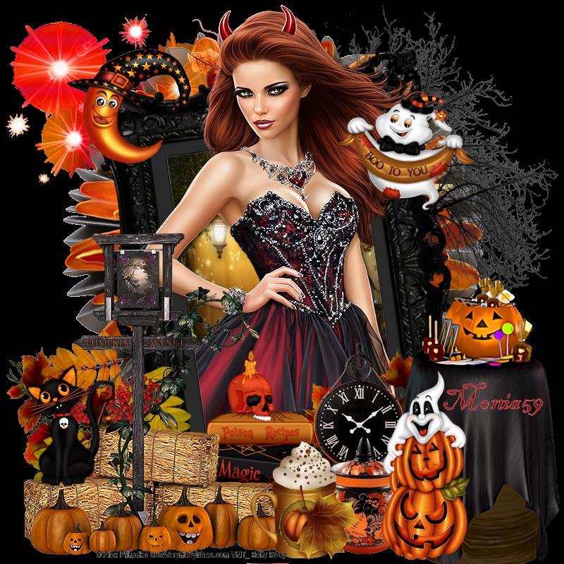 Page N°2 Halloween