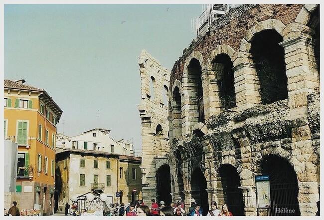"""Je suis repartie dans mes souvenirs """"Escapade en Italie"""""""