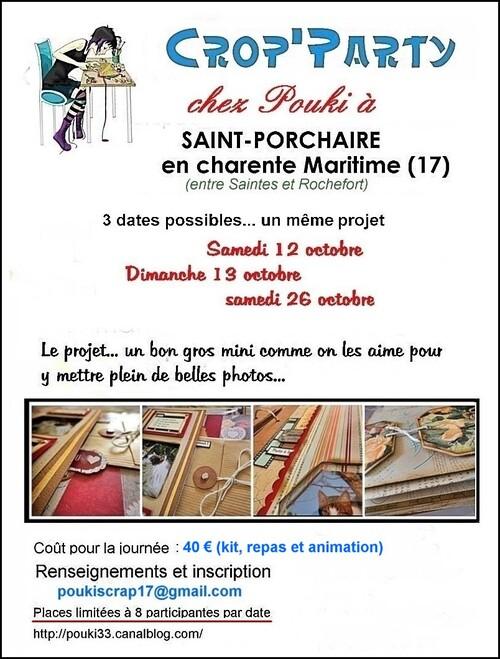 Crop de scrap en Charente Maritime chez Pouki