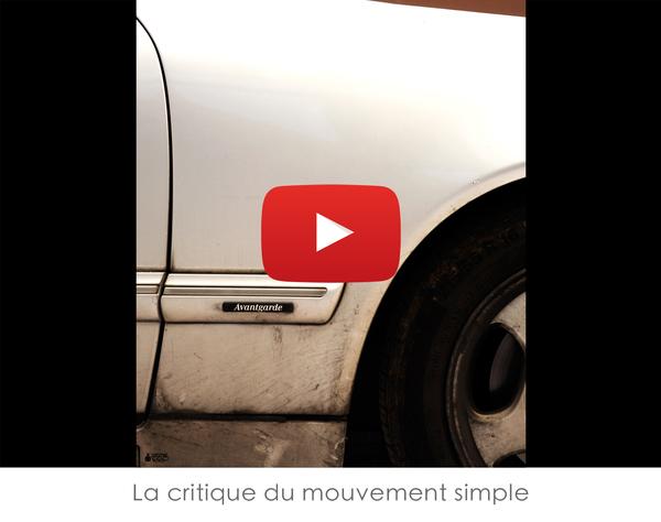 La critique du mouvement simple AILE DROITE DE L'AVANT GARDE