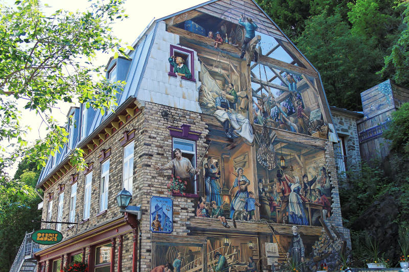 peinture sur façade 2