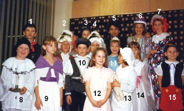 Bioul - L'école à la R.T.B.F. janvier 1990.