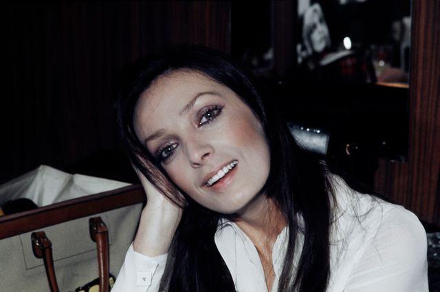 Portrait de Marie Laforêt, en 1972.