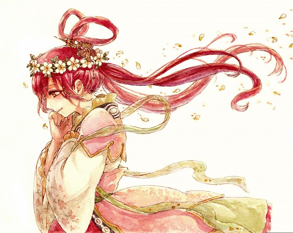 Tags: Anime, Pixiv Id 7339460, MAGI: The Labyrinth of Magic, Ren Kougyoku, Hair Rings, Princess, Twin Rings