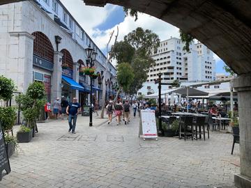 Gibraltar - Casemates square