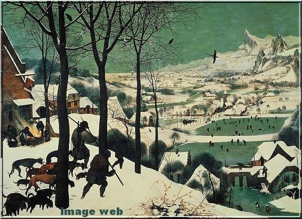 Chasseurs dans la neige R