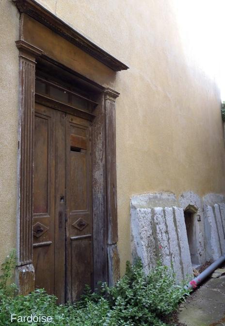 Une porte plus décorative qu'utile
