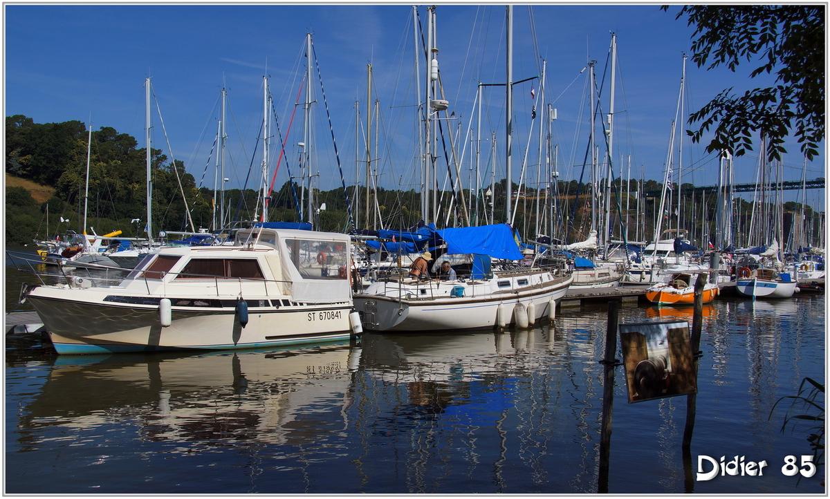 (56) La Roche Bernard (1) - Port sur la Vilaine