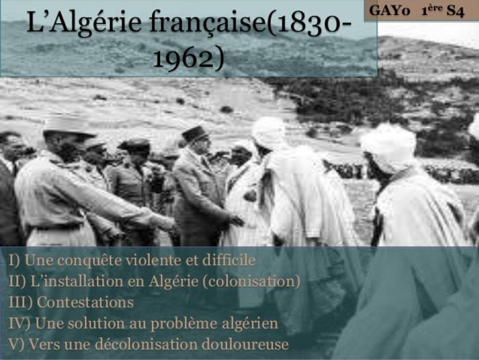 """Algérie """" Les dégâts de la colonisation : honte à la France !!!"""