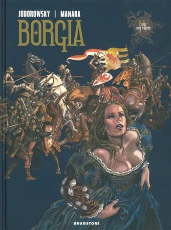 Tout est Vanité de Jodorowsky & Manara - Borgia, tome 4