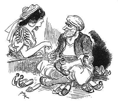 Morgiane alla trouver un vieux savetier.