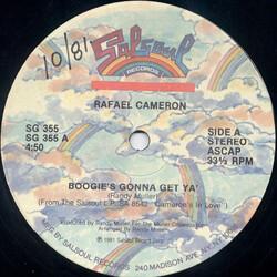 Rafael Cameron - Boogie's Gonna Get Ya