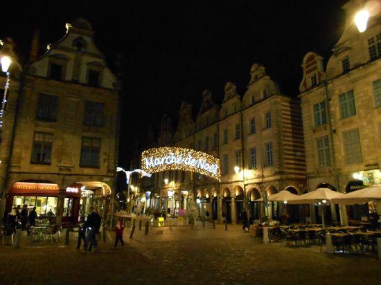 Marché de Noël d'Arras.