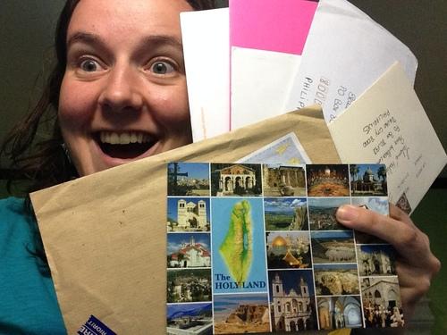 Du courrier!