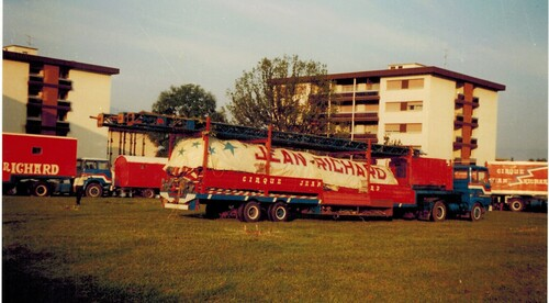 montage du cirque Jean Richard en 1982 - 1er épisode