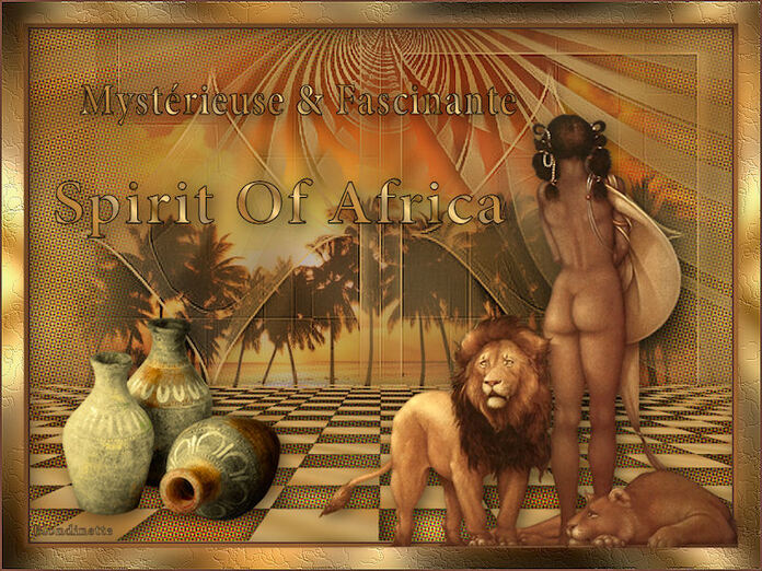 Tutoriel Spirit Of Africa