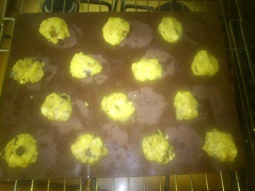 Cookies 3 noix et cookies chocolat noisette pour le goûter