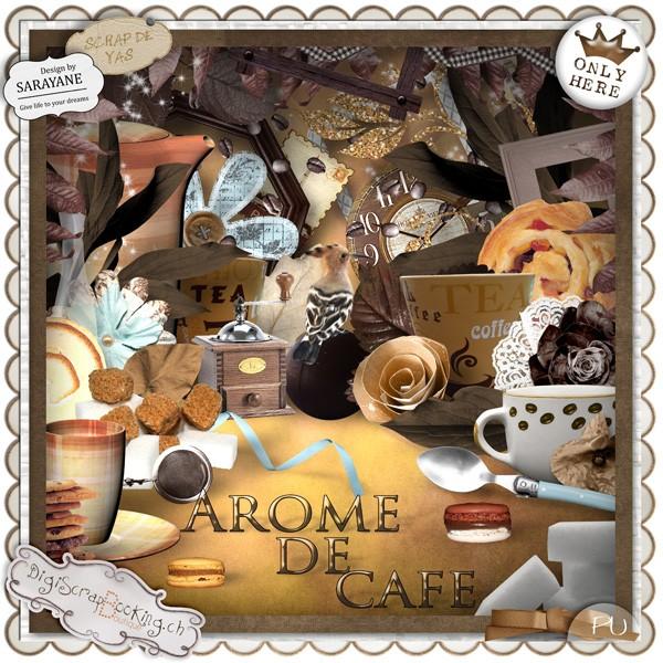 """""""Arôme de café"""" by Scrap de Yas et Sarayane"""