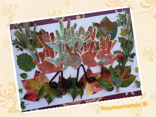 Un hérisson aux couleurs de l'automne