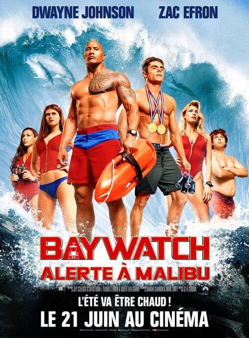 BAYWATCH : ALERTE À MALIBU - Summer is coming avec Dwayne Johnson, Zac Efron - Au cinéma le 21 juin 2017.