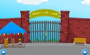 Jouer à Toon Escape - Mini golf