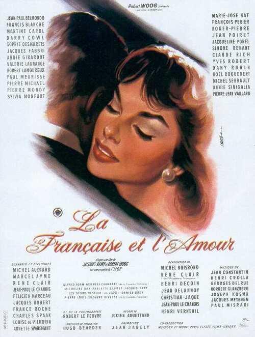 LA FRANCAISE ET L'AMOUR - BOX OFFICE ANNIE GIRARDOT 1960