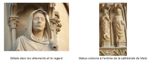 Les sculptures de l'art gothique : ses caractéristiques