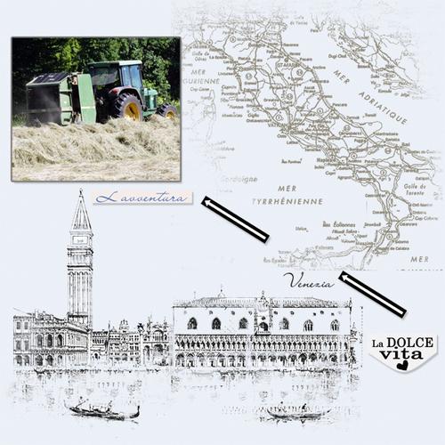 Escale en Italie