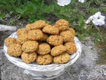 biscuit au flocon d'avoine et aux épices