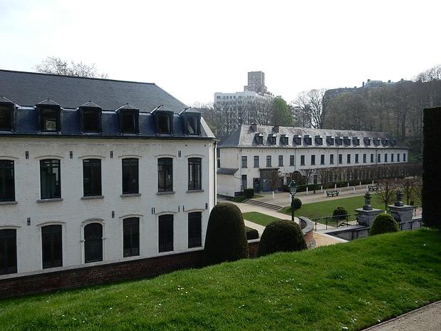 Les jardins de l'abbaye de la Cambre