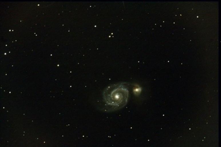 Une supernova dans la galaxie M51