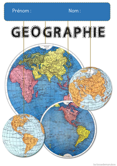 Page de garde Géographie