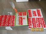 Macarons aux fraises Tagada