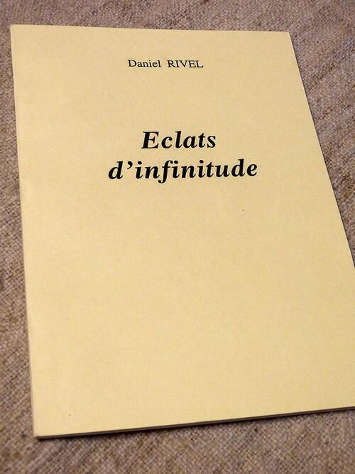 ''Eclats d'infinitude''. Parution 1999.